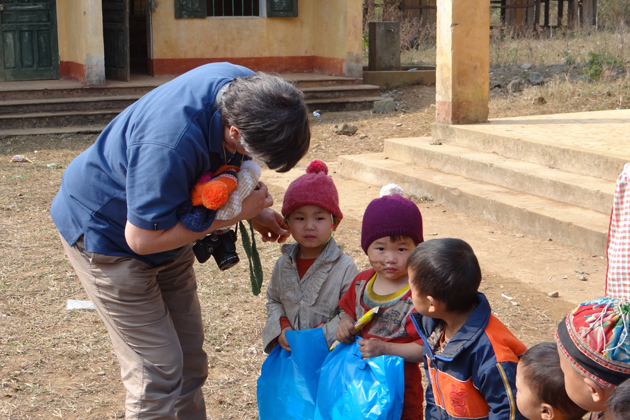 Mission humanitaire d'Asiatica Travel